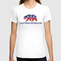 political T-shirts featuring California Political Republican Bear  by Republican