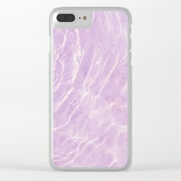 Soft Purple Pink Ocean Dream #1 #water #decor #art #society6 Clear iPhone Case