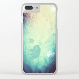 Wolf Pack Ghosts Clear iPhone Case