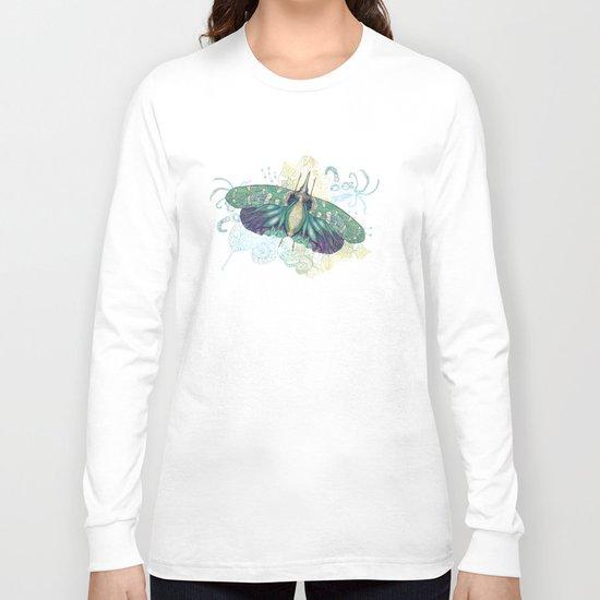 Hotinus Maculatus ~ Blue Version Long Sleeve T-shirt