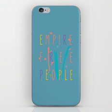 the enlightened one iPhone & iPod Skin