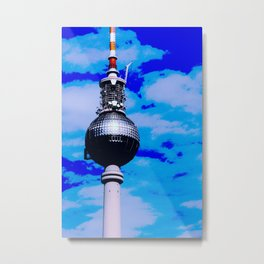 POP ART Berlin Metal Print