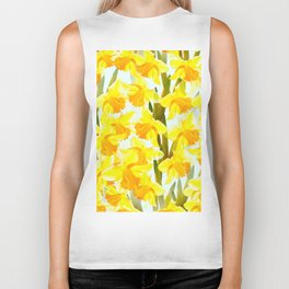 Spring Breeze With Yellow Flowers #decor #society6 #buyart Biker Tank