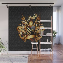 Medieval Coat of Arms Wall Mural