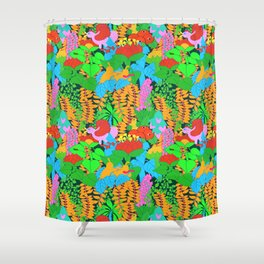 Jungle Groove Shower Curtain