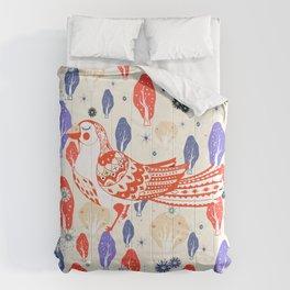 dreamy woods Comforters