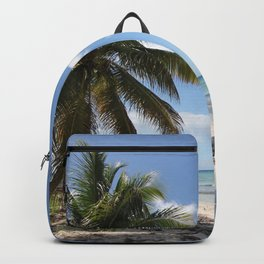 Isla Saona Caribbean Paradise Beach Backpack
