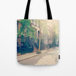 West Village Perry Street New York City Tote Bag