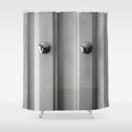 Door Shower Curtain