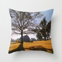 Kentucky Barn Throw Pillow