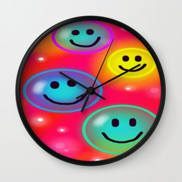 Smile! Wall Clock