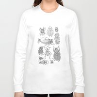 bugs Long Sleeve T-shirts featuring Bugs by Jillian Leigh