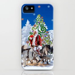 Santa Kringle Claus iPhone Case