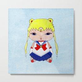 A Girl - Sailor Moon Metal Print