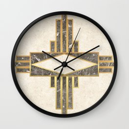 Luxurious gold and marble Wall Clock