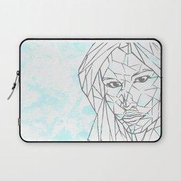 Diamant Bleu Laptop Sleeve