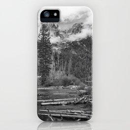 Birch Hallow, Teton Mountains iPhone Case