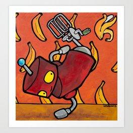 Robot - Bbot Art Print