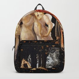 Primavera, Botticelli Backpack