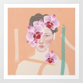 An Orchid Obsession Art Print