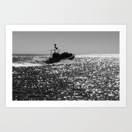 Search For Whales Art Print