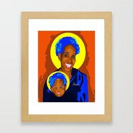 Imani Madonna Framed Art Print