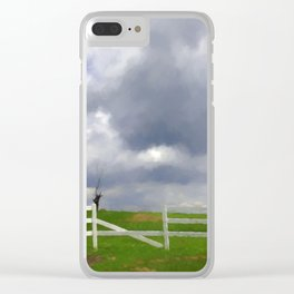 One Hot Summer Day Clear iPhone Case