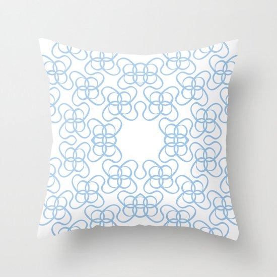 Macrame 02 Throw Pillow