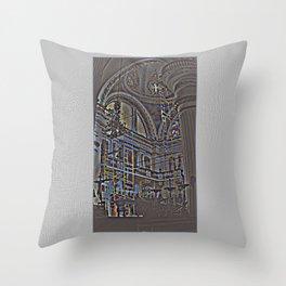 Catedral de la Asunción Throw Pillow