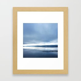 Soft winter sky Framed Art Print