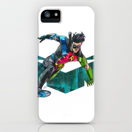 Nightwing : Robin Legacy iPhone Case