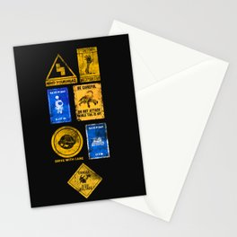 USEFUL SIGNS Stationery Cards