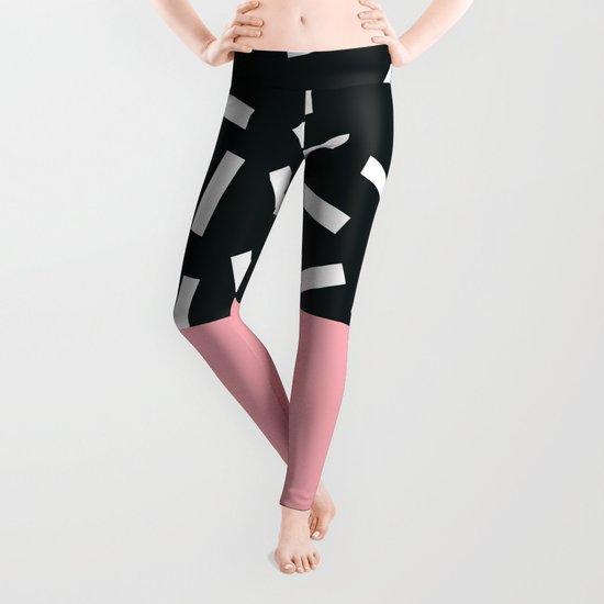 Memphis pattern 24 Leggings