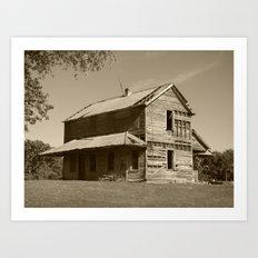 Abandoned house 2016 Art Print