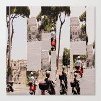 roman Canvas Prints featuring Roman Traffic by Eva Lesko