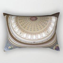 Wisconsin Capitol Building Rotunda 1 Rectangular Pillow