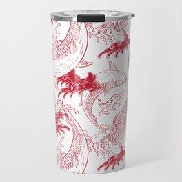 Red carps Travel Mug