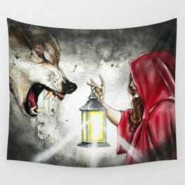 Face your fears Wall Tapestry