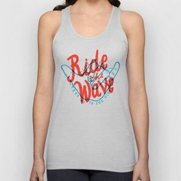 Ride the Wave Unisex Tank Top