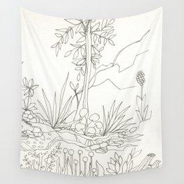 Sapling Wall Tapestry