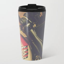 Vintage Triumph Bonneville Motorcycle Travel Mug