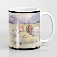thanksgiving Mugs featuring Thanksgiving by LaurelAnneEquineArt