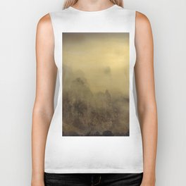 Flying With You... Hand Painted Photograph Biker Tank