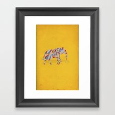 When in India Framed Art Print