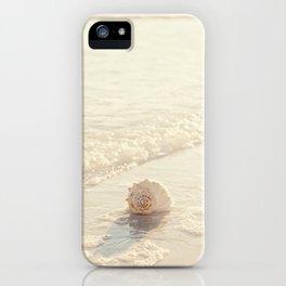 Seashell by the Seashore I iPhone Case