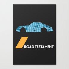 Drive - Road Testament Canvas Print