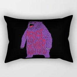 Arise and Devour Much Flesh Rectangular Pillow