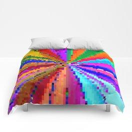 carnival de squares Comforters