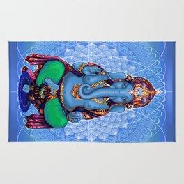 Hyperspace Shakti Ganesha Rug