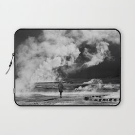 Walking into Fire Laptop Sleeve